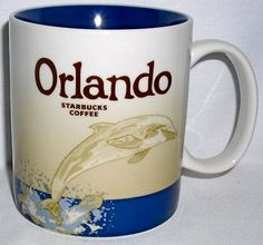 Starbucks Mug - Orlando - Global Icon City