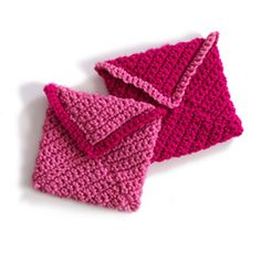 Valentine's Day Crocheted Envelopes by Lion Brand Yarn
