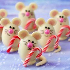 Triple Chocolate Truffle Christmas Mice and Other Kid Friendly Holiday Treats - Foodista.com