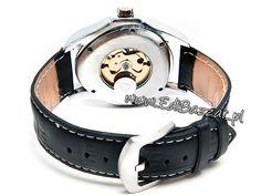 Zegarek GOER Skeleton mechaniczny nakręcany DLA CHŁOPAKA Belt, Accessories, Fashion, Belts, Moda, Fashion Styles, Fashion Illustrations, Jewelry Accessories