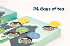 A sprinkle of joy each day of the Christmas season! Davids Tea Advent Calendar! Can't wait to try 24 days of different teas from there :) Amazing!! x