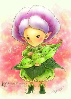 Edamame Sprite by aruarian-dancer.deviantart.com on @DeviantArt
