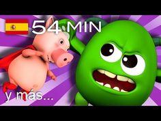 El Puente de Londres se va a caer   Y muchas más canciones infantiles   ¡54 min de LittleBabyBum! - YouTube