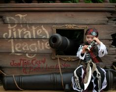 Pirate's League at Disney for older kids (2 and up).  They do mermaid makeovers for little girls for little ones who aren't into princesses. :-)