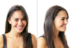 """""""Don't just grab and twist one large section of hair; instead, start small with a 1-inch section near your part and gather hair as you tightly twist down your hairline."""""""
