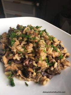 Risotto, School Lunch, Diet Recipes, Cooking, Ethnic Recipes, Fitness, Food, Diet, School Lunch Food