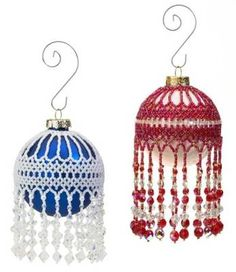 Y316 Bead Pattern Only Beaded Traditional Christmas Ornament Cover Pattern | eBay