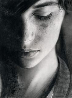 Greys - graphite on paper