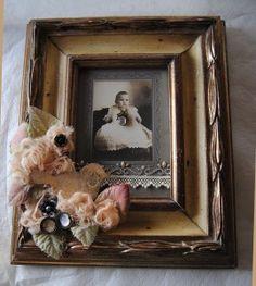 Vintage photo frame by Jan Hennings