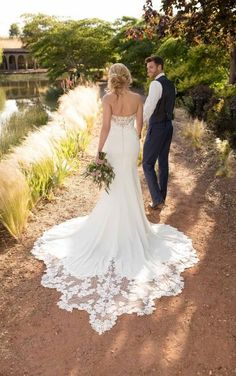 Exclusive stockist of Essense of Australia Wedding Dresses in Ireland. View our beautiful collection of Essense of Australia wedding dresses Wedding Dress Frame, Wedding Dress Trends, Boho Wedding Dress, Designer Wedding Dresses, Wedding Blog, Wedding Ideas, Backless Wedding, Mermaid Wedding, Wedding Inspiration
