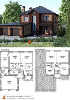 Home Building Design, Building A House, House Design, Beautiful House Plans, Beautiful Homes, Modern Bungalow House Plans, Mediterranean House Plans, Timber House, Dream House Exterior