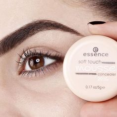 "the amazing texture of our new ""soft touch mousse concealer"" allows an easy and smooth coverage revolving_hearts #essencecosmetics #essence #instabeauty #softmousseconcealer #concealer #makeup #essencelove #loveatfirsttry"