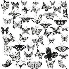 tatuajes de mariposas - Buscar con Google