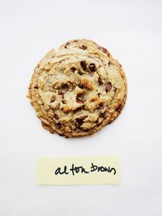 The Chewy Chocolate Chip Cookie by Alton Brown