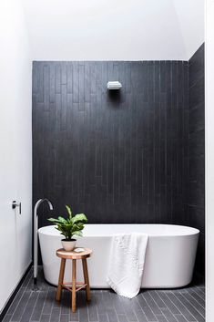 Admiring Black And White Monochrome Bathroom Design Ideas To Have 38 Contemporary Bathrooms, Modern Bathroom, Small Bathroom, Minimalist Bathroom, Contemporary Decor, Modern Minimalist, Timeless Bathroom, Beautiful Bathrooms, Luxurious Bathrooms