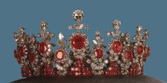 Ruby tiara from the Iranian collection