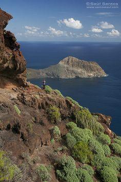 peninsula de Anaga con la playa de Antequera al fondo. Isla de Tenerife. Canary Islands