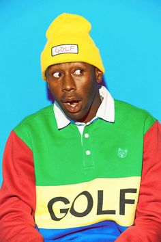 The Golf Wang Fall/Winter Lookbook Features a Multitude of Color #menswear #fashion trendhunter.com