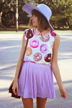 pastel sprinkled donuts. |Steffys Pros and Cons | Miami Fashion Blog