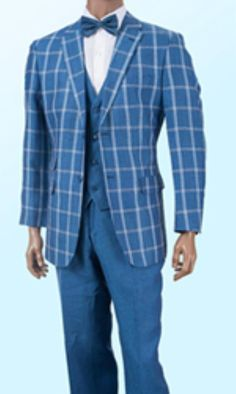 Discounted Summer Light Weight Sale Linen Suit Light Blue $325 ...