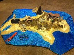 Island of the Blue Dolphins - model - student project? Geography Activities, Classroom Activities, Book Activities, Map Projects, School Projects, Study Island, Common Core Language Arts, 4th Grade Ela, Night At The Museum
