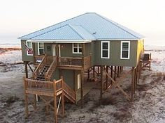 Gulf side of Dauphin Island's West End Beach and just a one minute walk to GulfVacation Rental in Dauphin Island from @homeaway! #vacation #rental #travel #homeaway