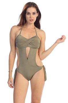 One Piece Swimsuits Monokini
