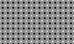 Eye-catching Black and White pattern