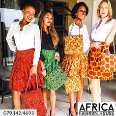 Spice up your life - call Africa Fashion House today - 079.142.4693