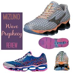 The Mizuno Wave Prophecy 3 is a tremendous running shoe!