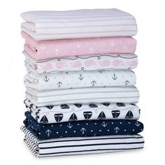 product image for Nautica Kids® Mix & Match Nautical Fitted Crib Sheet Collection