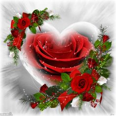 To my dear Joe♡♡♡,Love you♡, Heart Pictures, Heart Images, Love Pictures, Romantic Pictures, Hearts And Roses, Red Roses, I Love Heart, My Love, Corazones Gif