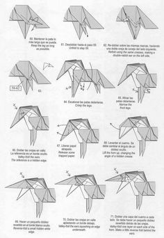 Unicorn origami tutorial | Xinblog