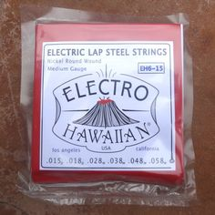 Product DescriptionAsher Electro Hawaiian® Lap Steel Strings are Nickel Round Wound, medium gauge strings for 6-string electric lap steel guitar and are manufactured in the USA by La Bella String Company.