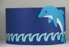 verjaardagsmuts dolfijn