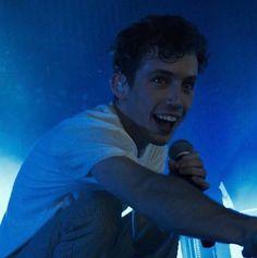 Troye looks so happy