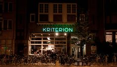 Kriterion - an alternative cinema, that also consist of pub and restaurant. Top movies, delicious food and good vibes. Do you need more? #kriterion #cinema #amsterdam