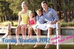 Family Vacation 2012- tips