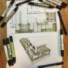 A leading platform for architecture sketchs. mention @arch_more in your work…