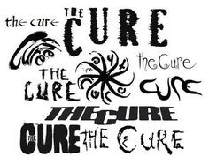 Image discovered by ProudBeliectioner. Find images and videos about Logo and the cure on We Heart It - the app to get lost in what you love. Emo Piercings, The Cure Band, Band Logo Design, Fever Ray, What About Bob, Robert Smith The Cure, Siouxsie & The Banshees, Band Tattoo, Band Logos