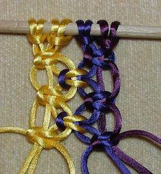 Alt. Square Knot 5 tutorial de distintos nudos