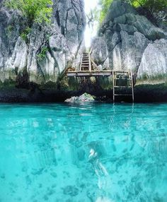 34789e45b Stairway to paradise, Twin Lagoon, Palawan, Philippines Philippines Travel  Honeymoon Backpack Backpacking Vacation