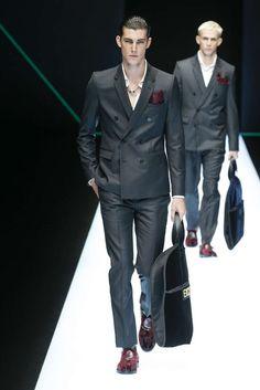 Emporio Armani, Herbst/Winter 2018, Mailand, Menswear