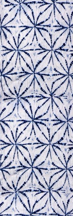 Traditional blue & white. Shibori