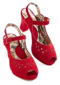 Let's Get Ready to Ruby Heel, #ModCloth