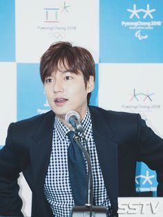 Lee Min Ho was appointed Honorary Ambassador to the 2018 Pyeong Chang Winter Olympics on 20150925.