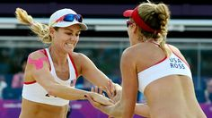Kessy and Ross, USA Women's Beach Volleyball
