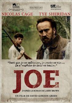 Concours Joe : 10 places à gagner pour voir un bon film avec Nicolas Cage!!
