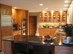 Sarah's wood kitchen