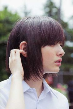 41. Bob Hairstyles with Bangs